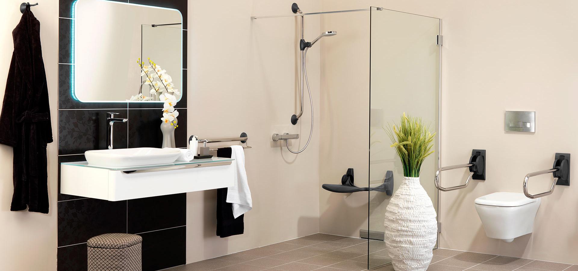 Oplossingen voor een veilige badkamer