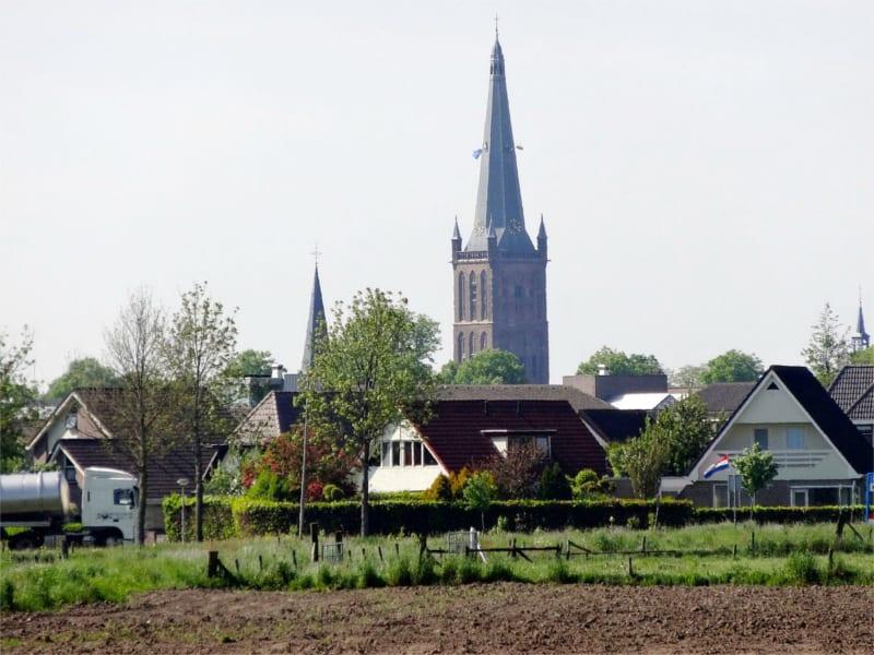 Steenwijk vanaf het platteland