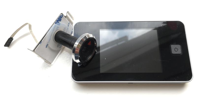 slim apparaat waarmee door een blinde deur kunt zien