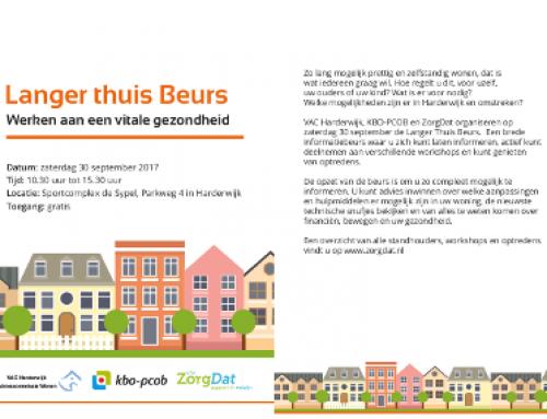 Langer thuis Beurs Harderwijk