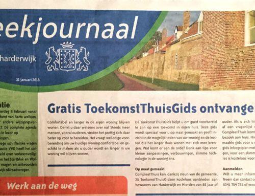 ToekomstThuis Gids aankondiging – gemeentepagina van Harderwijk